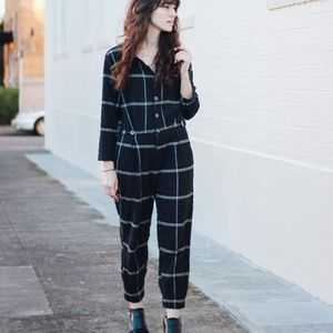 Free People Keep It In Check Relaxed Jumpsuit